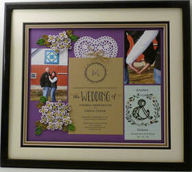 Quilled Collage Keepsake