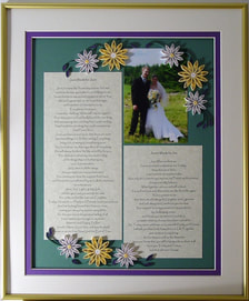 Quilled Photo Keepsake