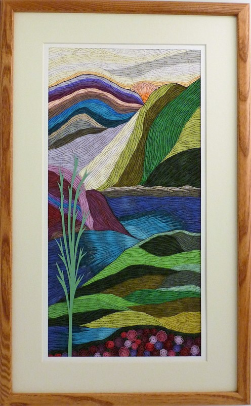 Quilled The Mountains River